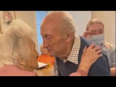 Tilford Care Home in Farnham, Surrey - Emotional Re-union (December 2020)