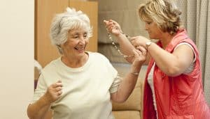 Live-in care combatting loneliness