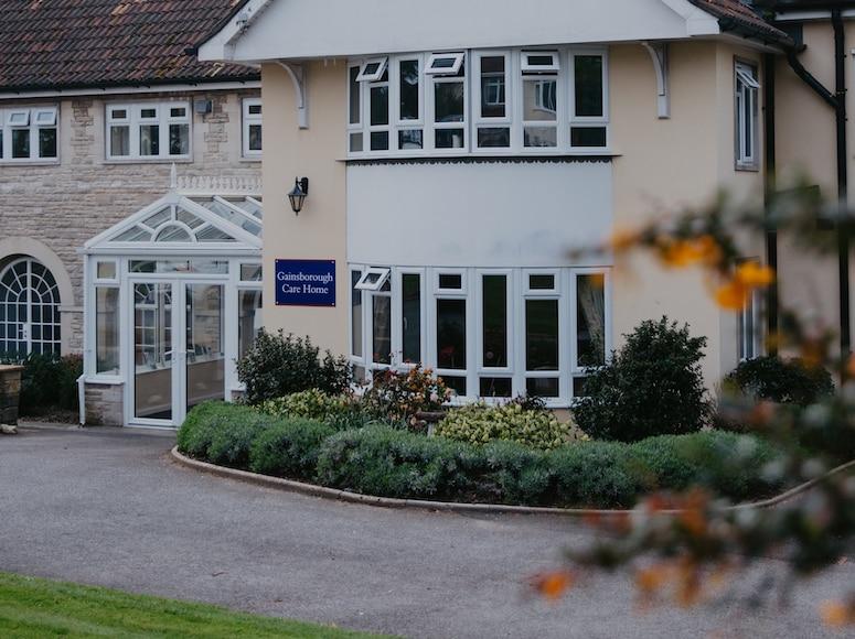 Gainsborough care home external