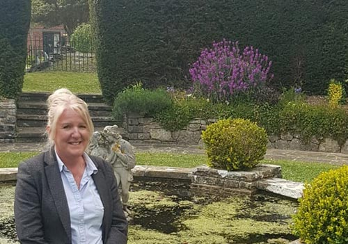 Janice West, Manager of Gorseway Care Home, Hayling Island