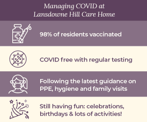 Managing COVID at Lansdowne care home Swindon