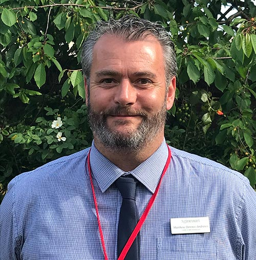 Weymouth Care Home - Agincourt Manager Matt Dennis-Andrews