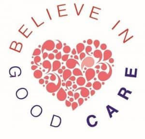 We believe in good care logo