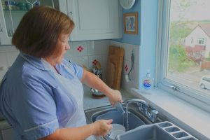 Home care jobs - washing up