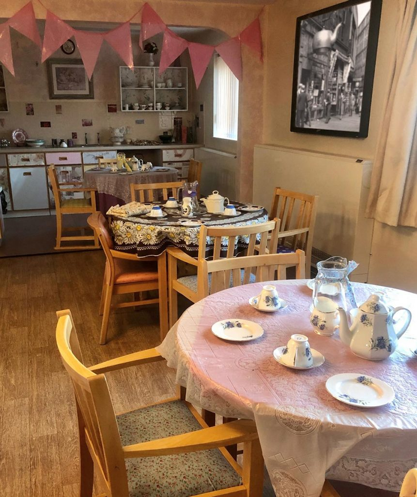 Dining Room in our Derby Care Home