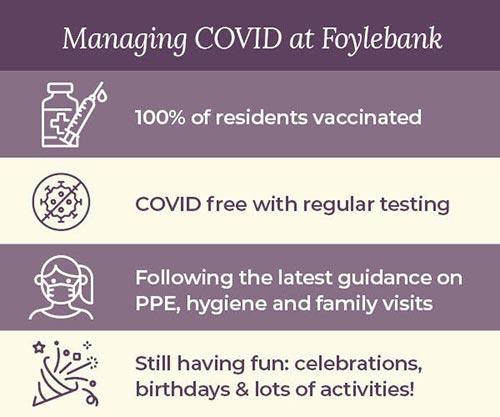 Vaccine Infographic Foylebank Chaddesden Care Home Derby