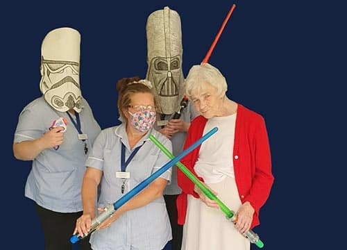 Care Home Films - Star Wars