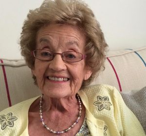 Live-in Care client Patricia with dementia