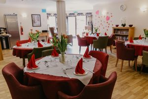 Dining Room at our Hayling Island care home