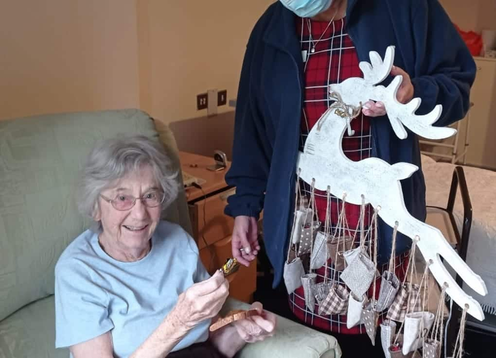 Advent treats at St Peter's Park care home in Bexhill
