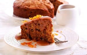 Live in care food - sticky toffee pudding